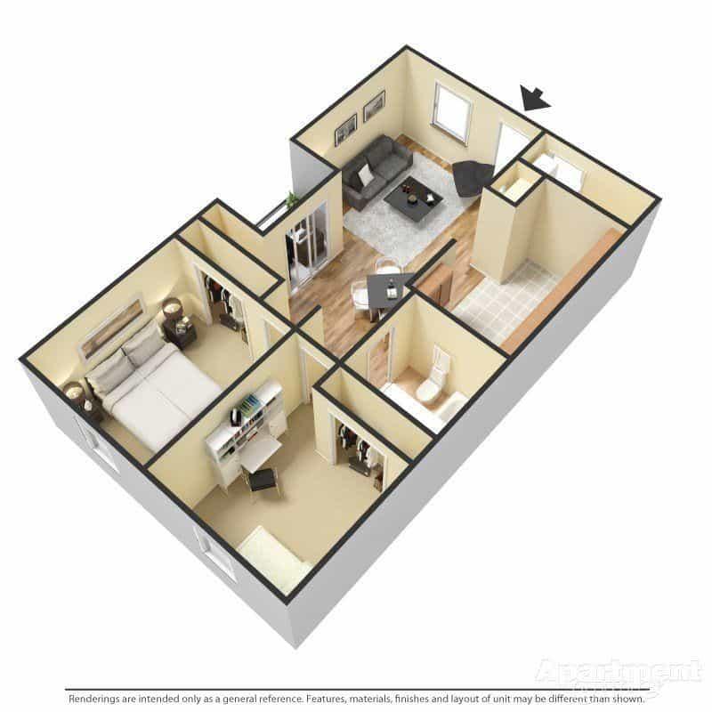Las Cruces Two Bedroom Apartments Near NMSU