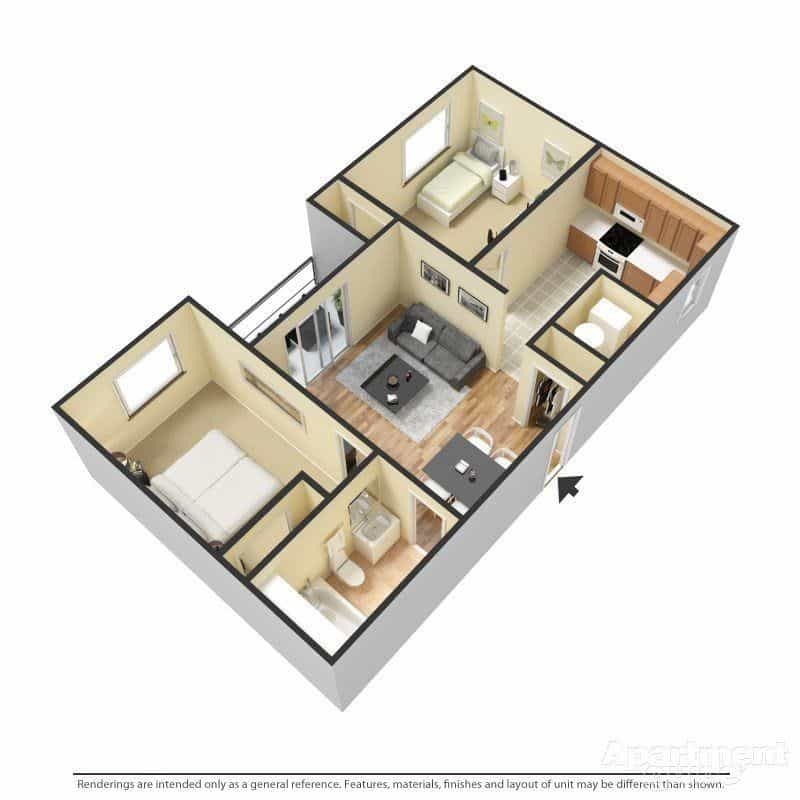 Las Cruces Two Bedroom Apartments